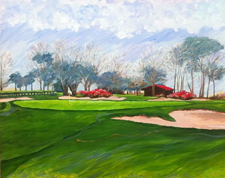 LW Country Club No9 in Acrylic